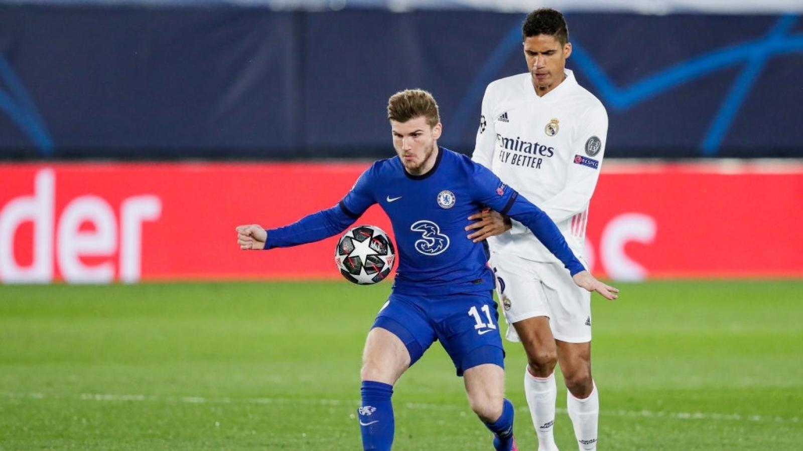 Real Madrid mất trụ cột ở trận tái đấu Chelsea