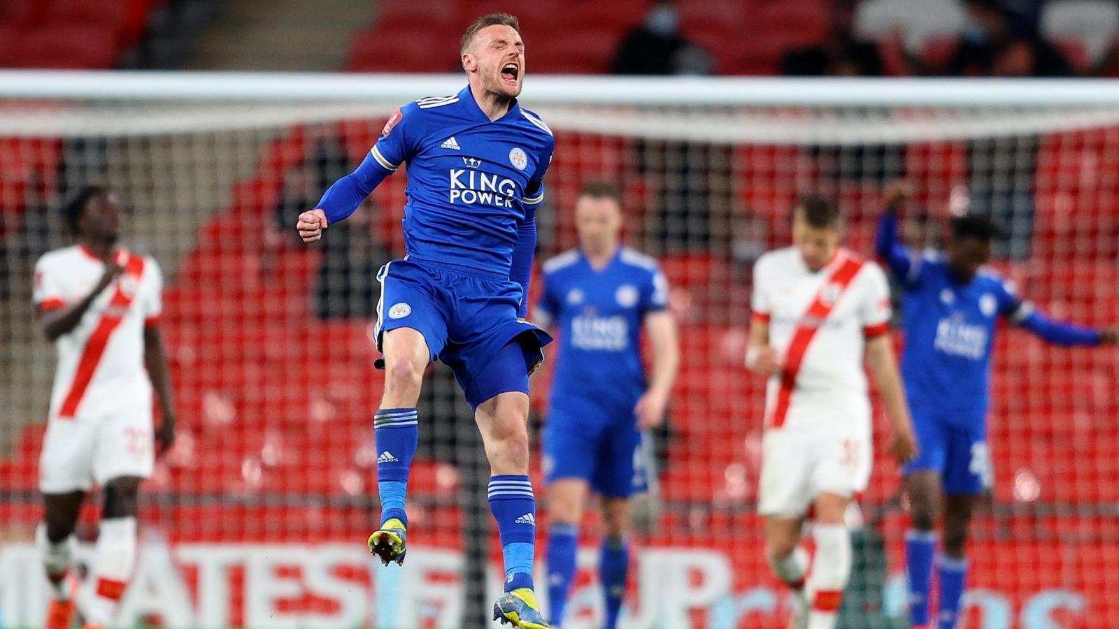 Vardy sắp tạo nên kỷ lục khó tin ở FA Cup