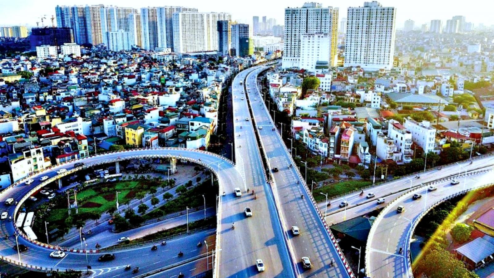 """""""Siêu dự án"""" đường vành đai 4 -Vùng Thủ đô dài 98km đi trên cao"""