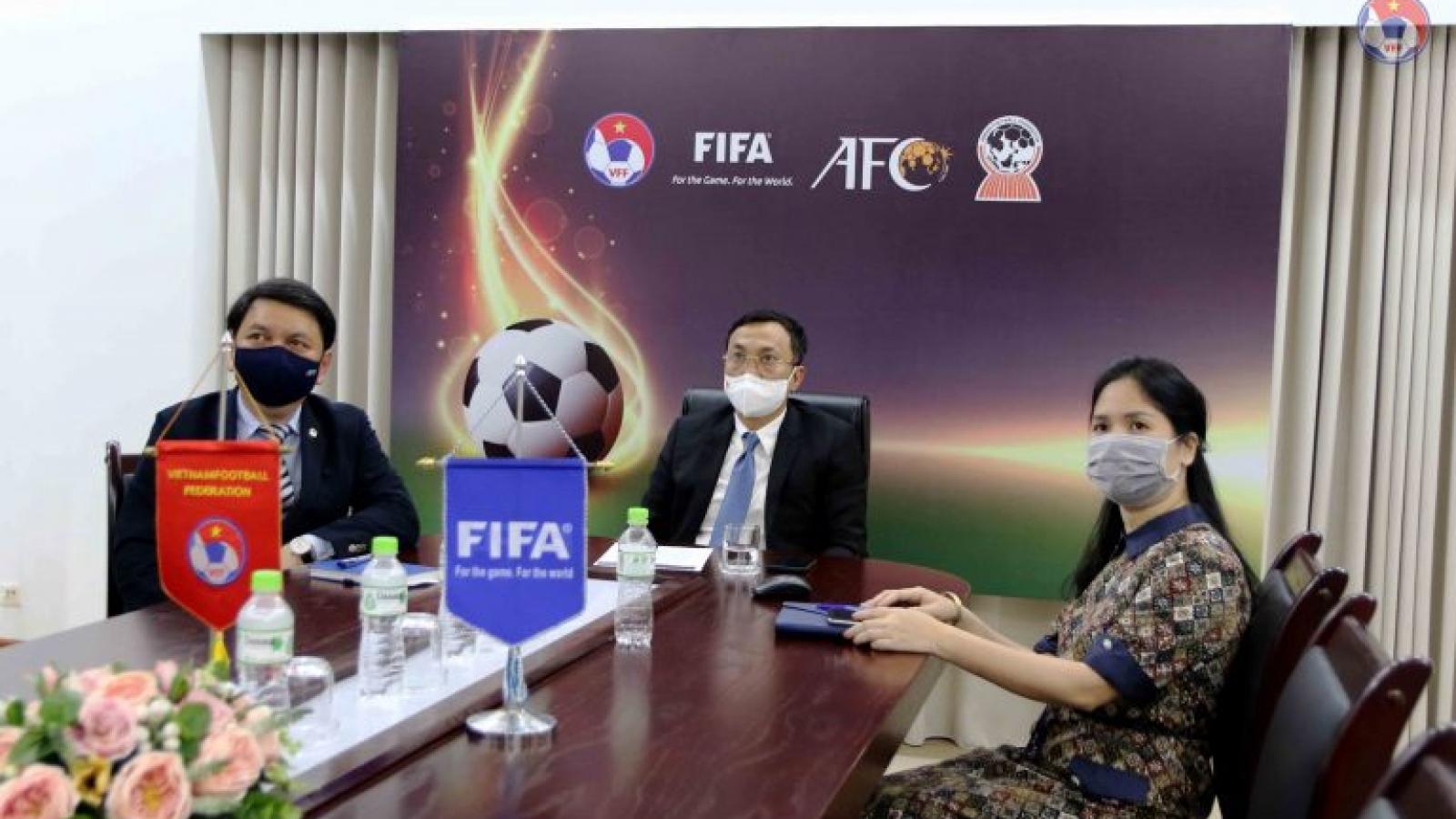 Bóng đá Việt Nam có đại diện trong Ban kỷ luật FIFA