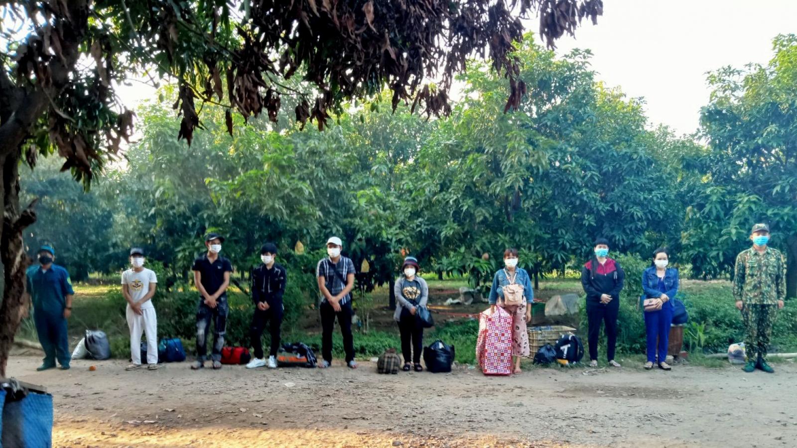 Một tuần phát hiện 6 vụ xuất nhập cảnh trái phép từ Campuchia vào An Giang