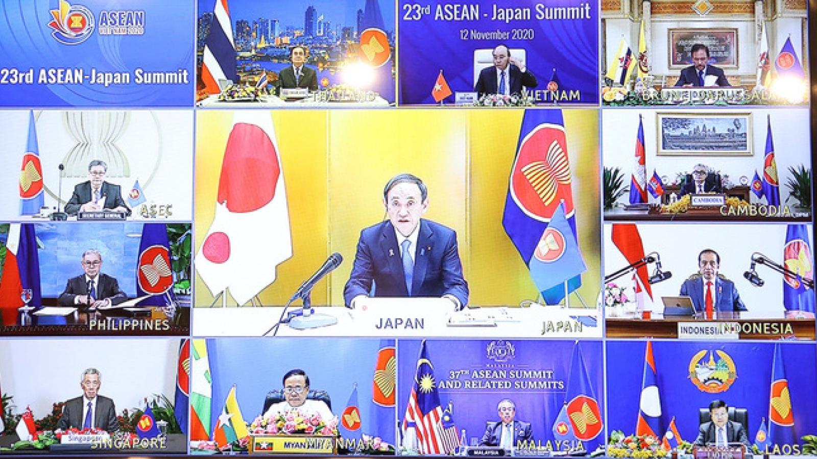 Nhật Bản khẳng định coi trọng quan hệ đối tác chiến lược với ASEAN