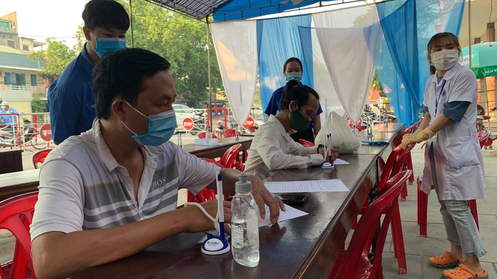 Thừa Thiên Huế xử lý nghiêm người khai báo y tế không trung thực
