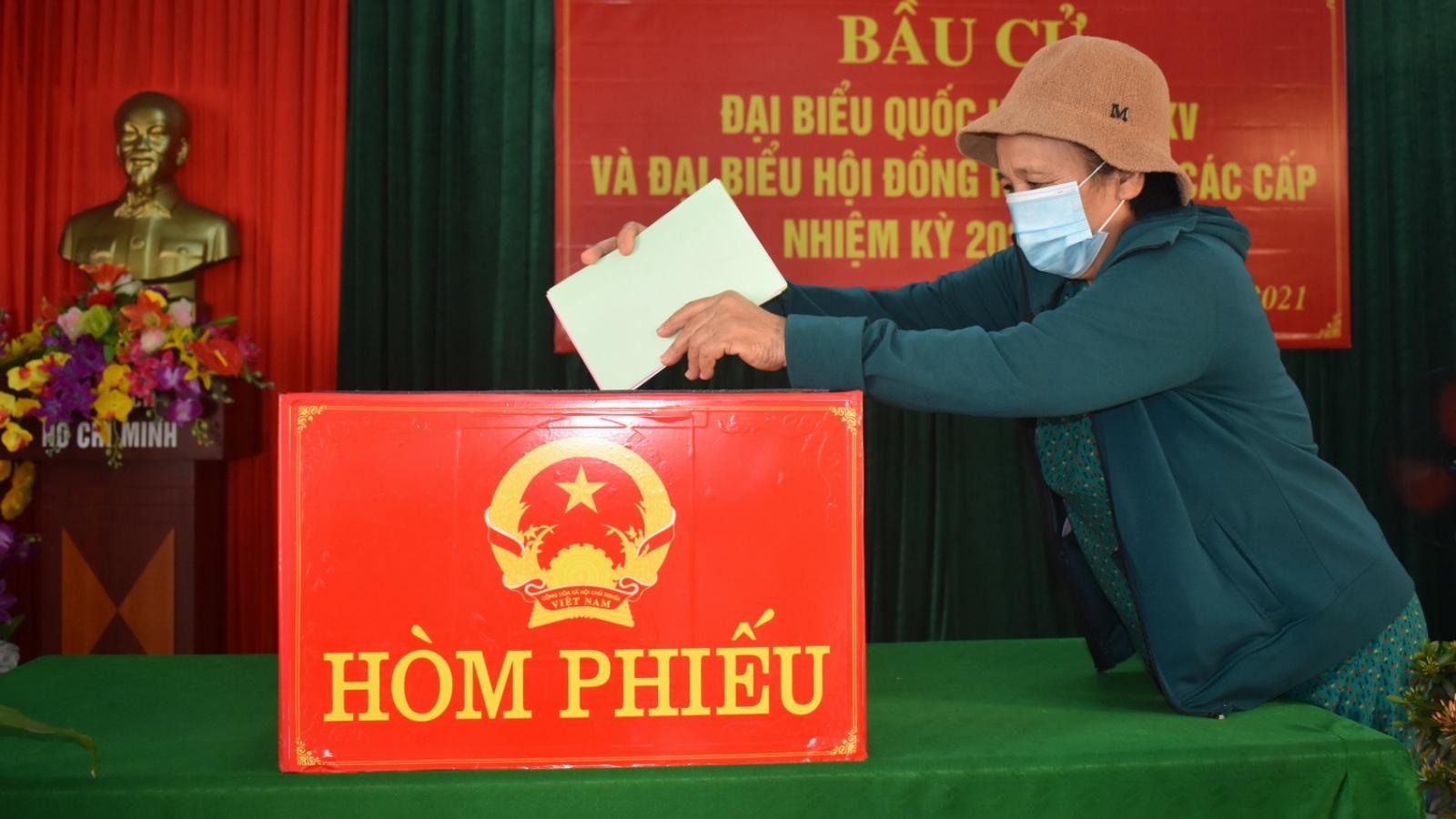 Quảng Bình công bố 50 người trúng cử đại biểu HĐND tỉnh
