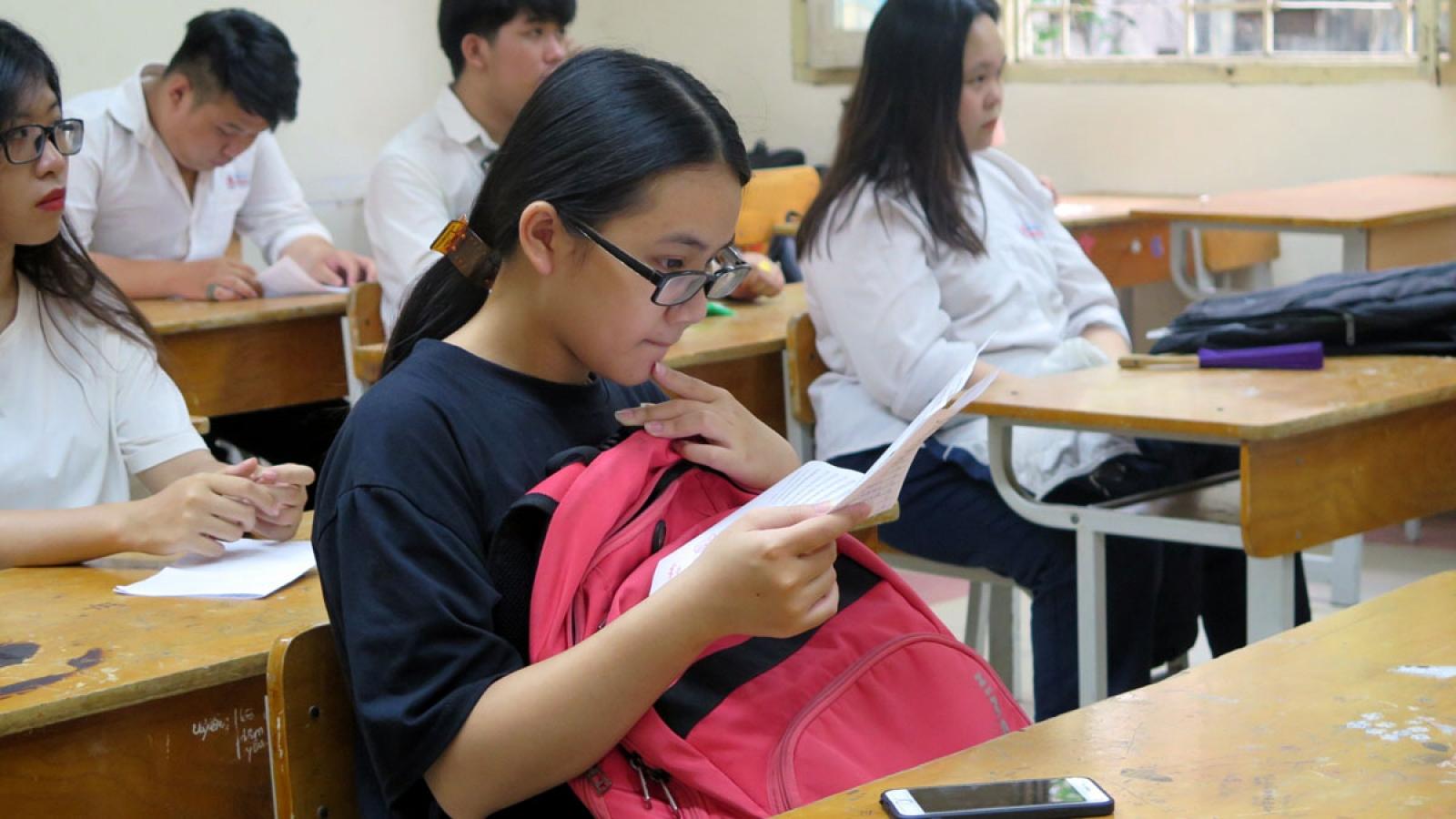 Trường THPT Chuyên KHTN ở Hà Nội hoãn thi vào lớp 10 do dịch Covid-19