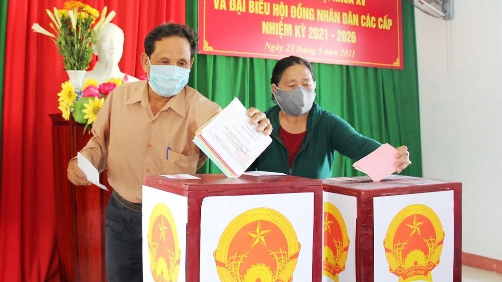 53 người trúng cử đại biểu HĐND tỉnh Quảng Ngãi