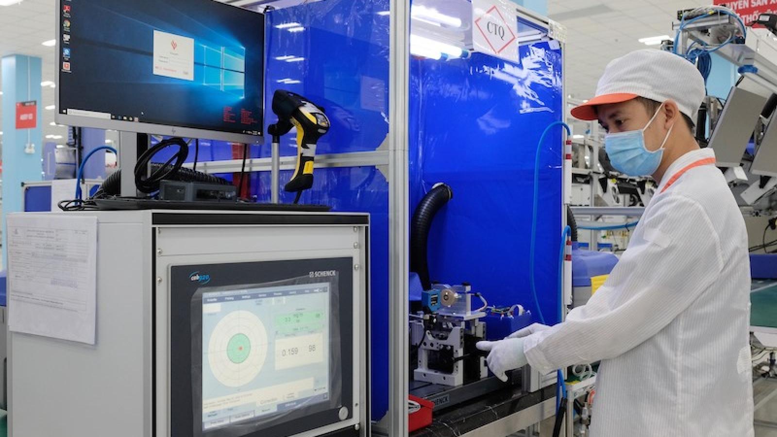 Chi phí sản xuất linh kiện của Việt Nam cao gấp 2-3 lần các nước khu vực