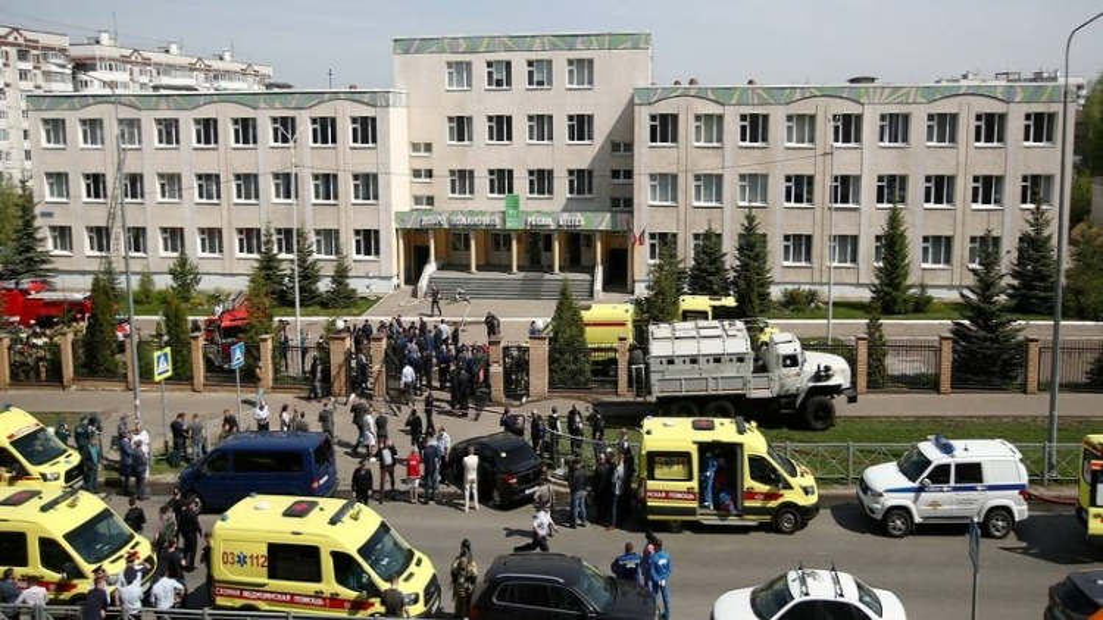 Bắt giữ nghi phạm vụ xả súng tại trường học ở Kazan (Nga)