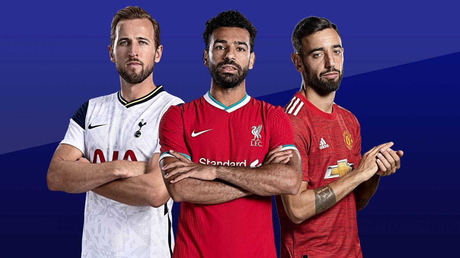 Cuộc đua vua phá lưới Ngoại hạng Anh 2020/2021: Harry Kane quyết đấu Salah