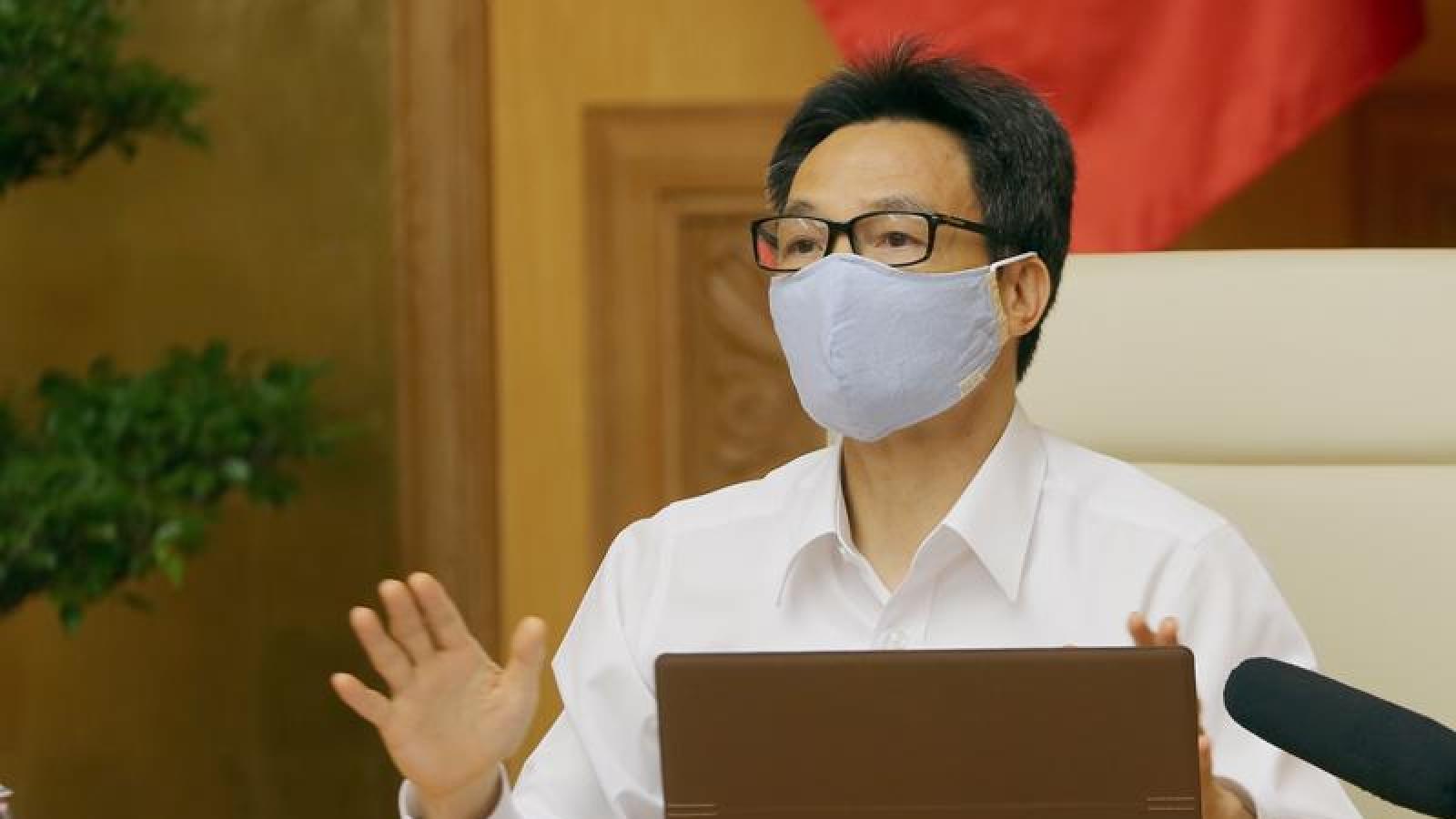 PTT Vũ Đức Đam: Xử lý nghiêm các trường hợp vi phạm quy định phòng chống dịch
