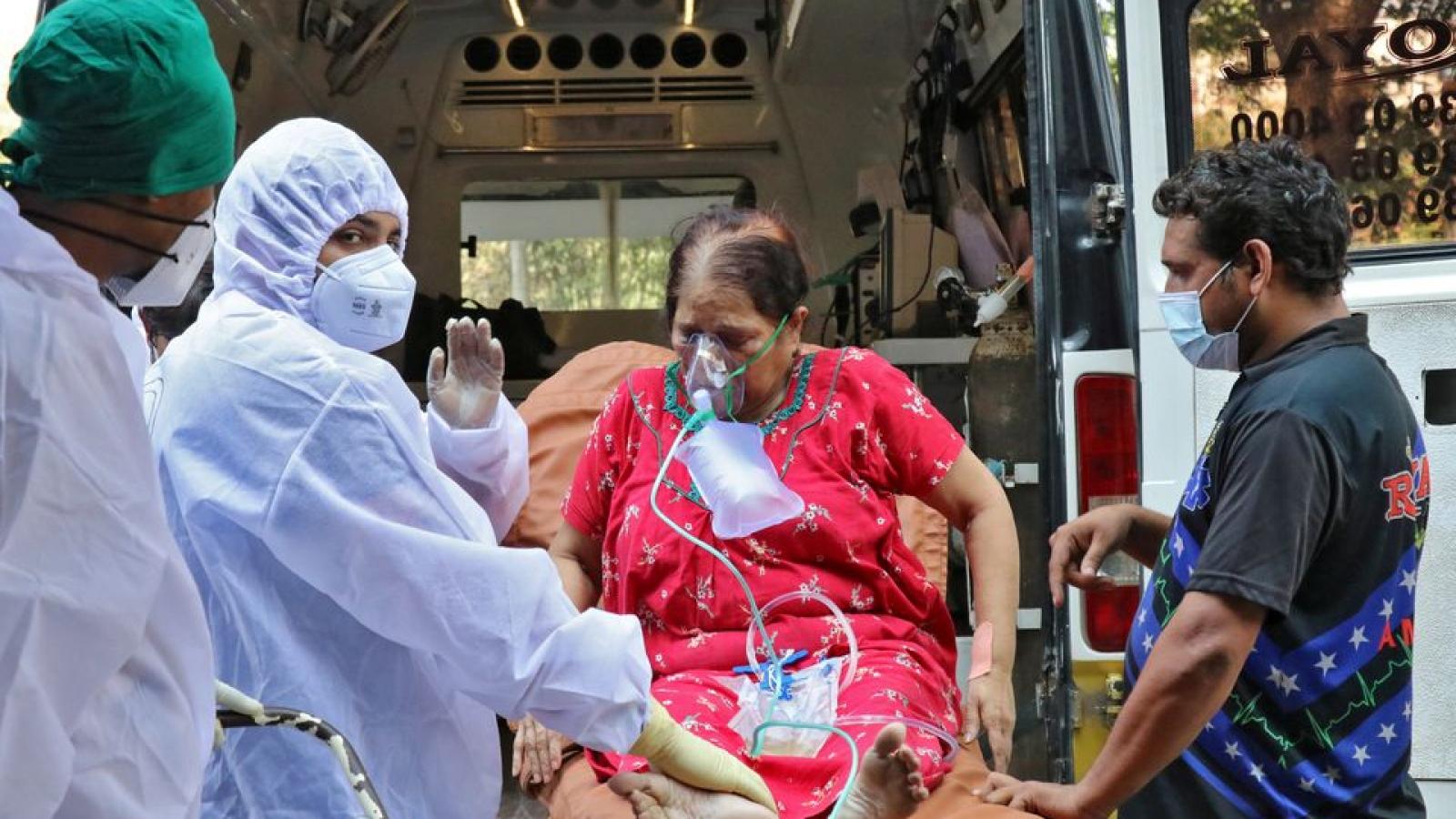 Ấn Độ vượt mốc 25 triệu ca Covid-19, ghi nhận kỷ lục u ám mới về số ca tử vong