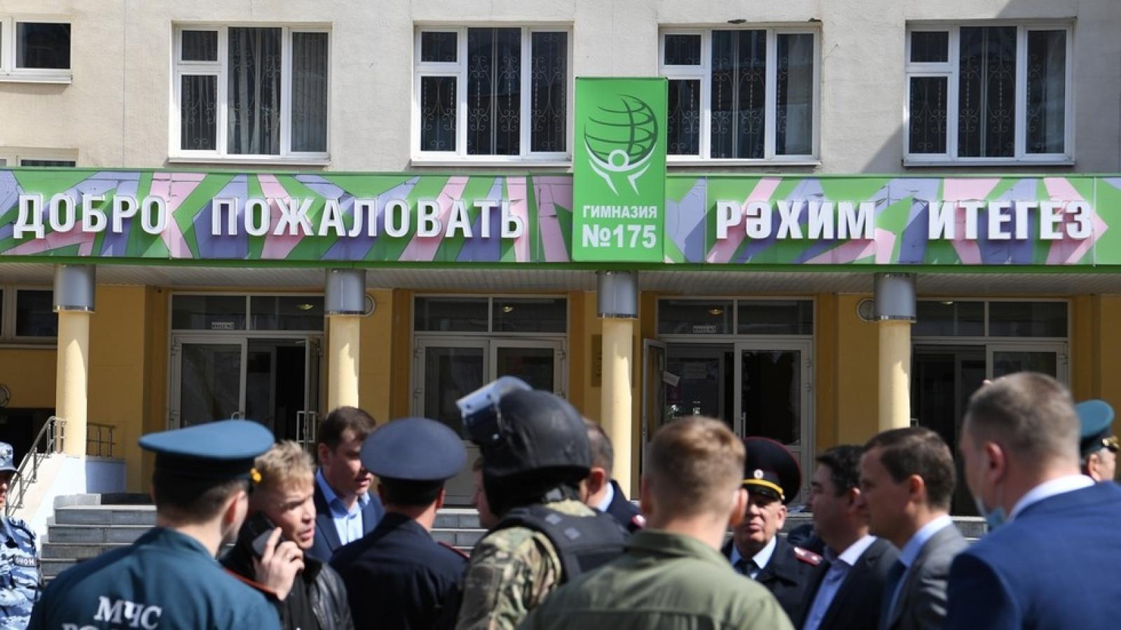Xả súng tại trường học ở Nga, ít nhất 8 người thiệt mạng