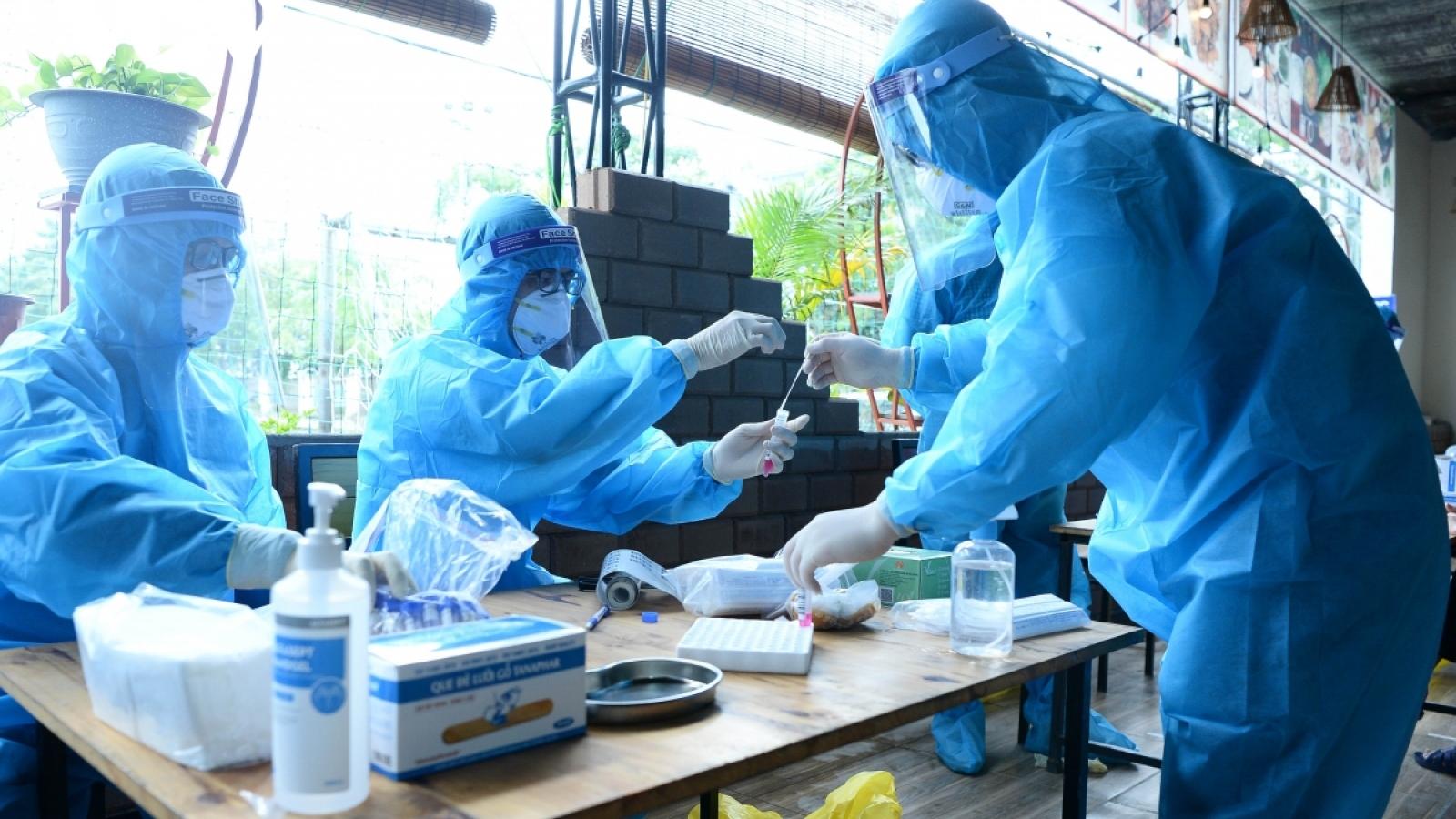 Lịch trình di chuyển của 2 ca dương tính với SARS-CoV-2 vừa phát hiện ở Hà Nội