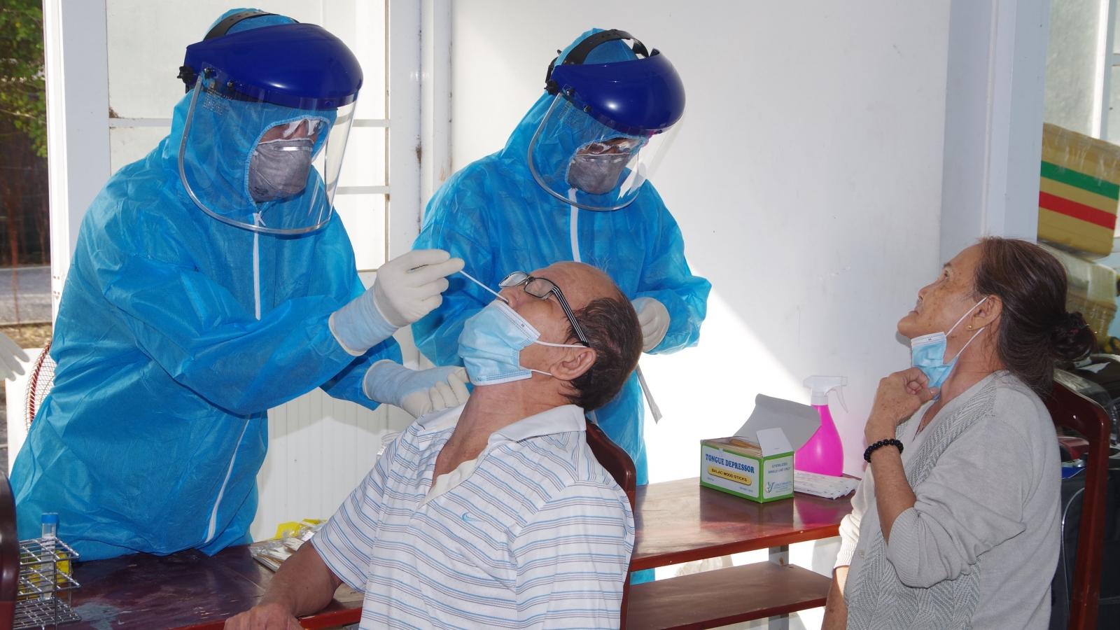 Các trường hợp F1 liên quan đến bệnh nhân 3141 cókết quả xét nghiệm âm tính lần 2