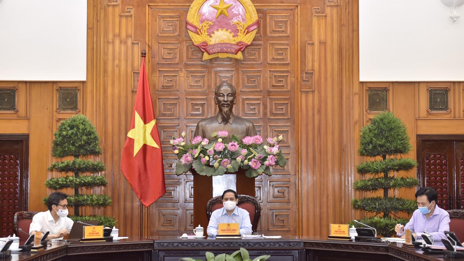 """Thủ tướng Phạm Minh Chính: """"Thực hiện chiến lược vaccine phòng, chống COVID-19"""""""