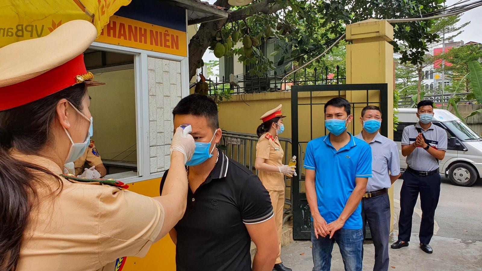 CSGT toàn quốc nỗ lực bảo đảm an toàn bầu cử, tăng cường phòng chống dịch Covid-19