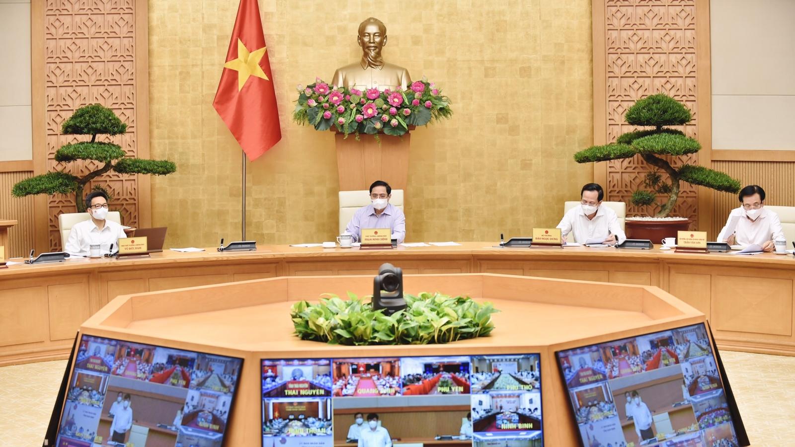 Thủ tướng Chính phủ: Phát hiện chủng virus mới, chống dịch phải thần tốc hơn