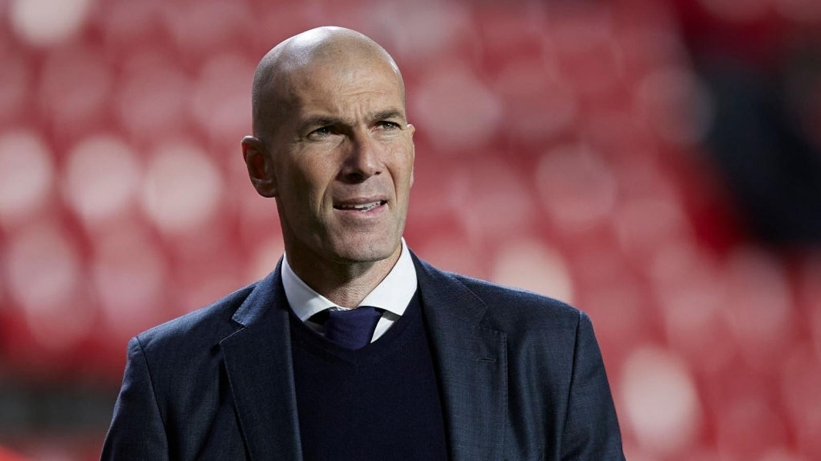 HLV Zidane rời Real Madrid ở mùa hè năm nay