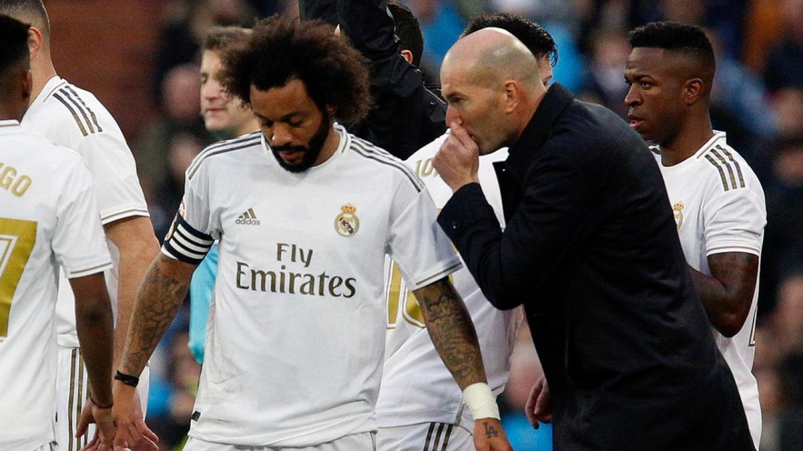 """Zidane nói gì trước tin đồn """"trù dập"""" Marcelo?"""