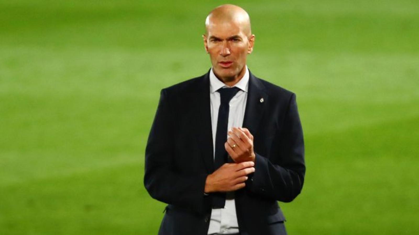 Chính thức: HLV Zidane chia tay Real Madrid