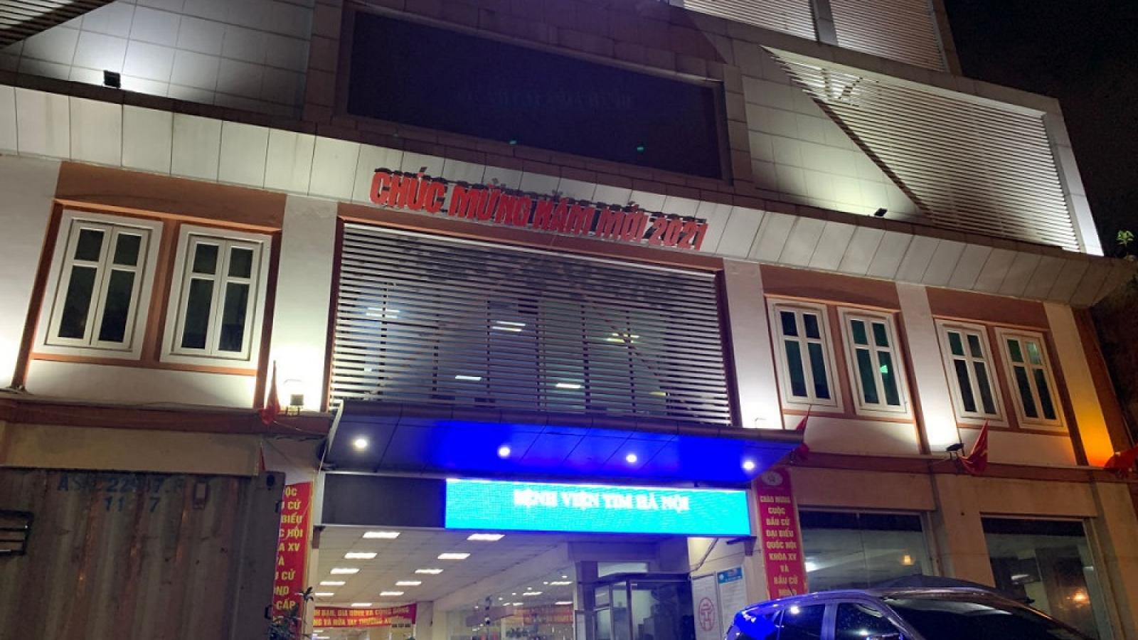Khởi tố 7 bị can liên quan đến những sai phạm xảy ra tại Bệnh viện Tim Hà Nội