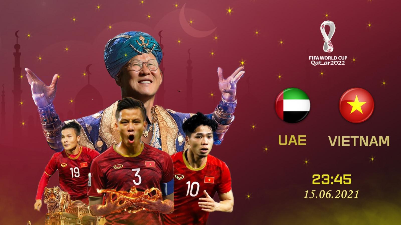 """Biếm họa 24h: """"Thần đèn"""" Park Hang Seo đưa ĐT Việt Nam vào vòng loại 3 World Cup 2022?"""
