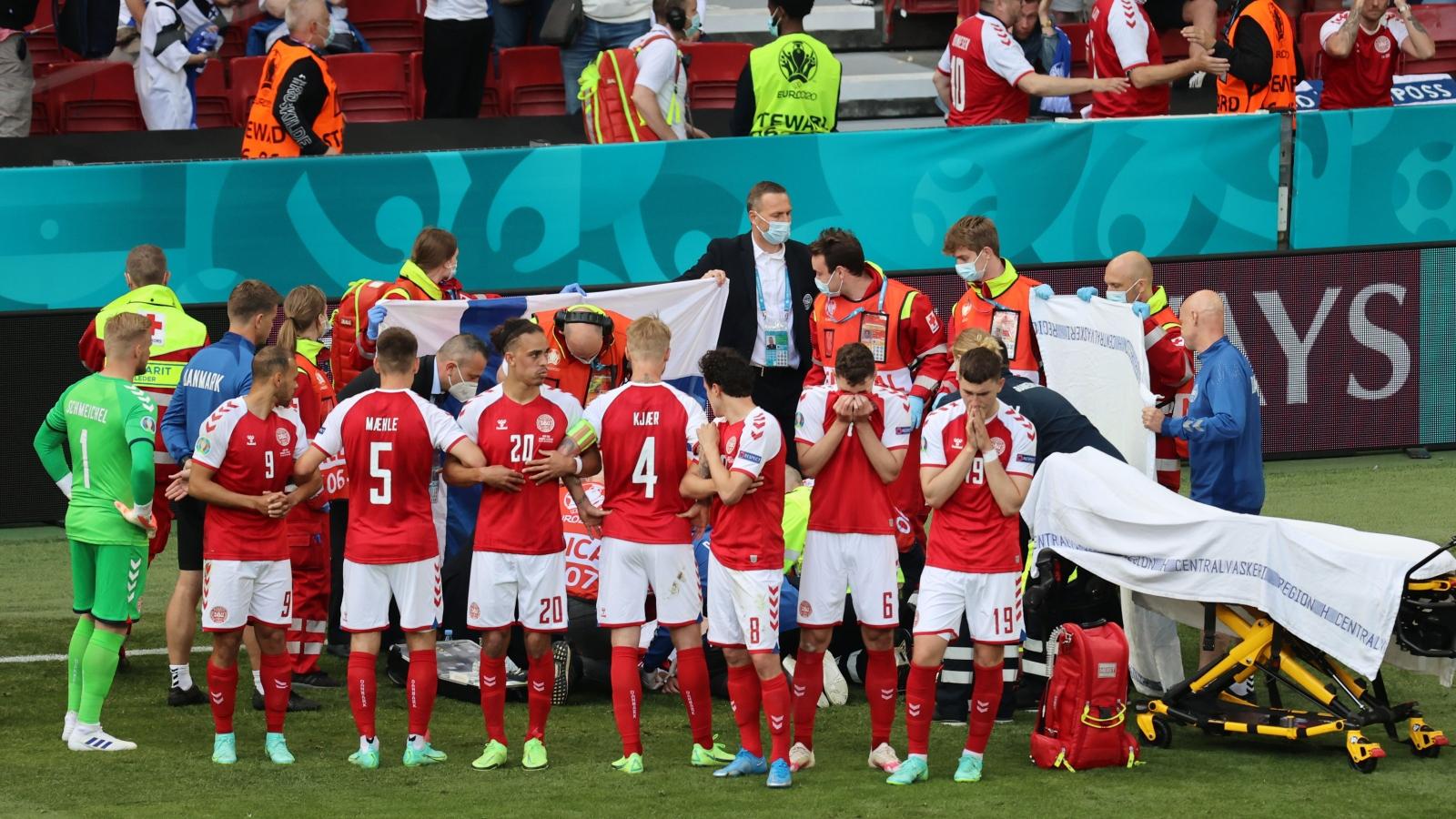 Chiến thắng lịch sử của Phần Lan trước Đan Mạch bị lu mờ khi Eriksen đột quỵ