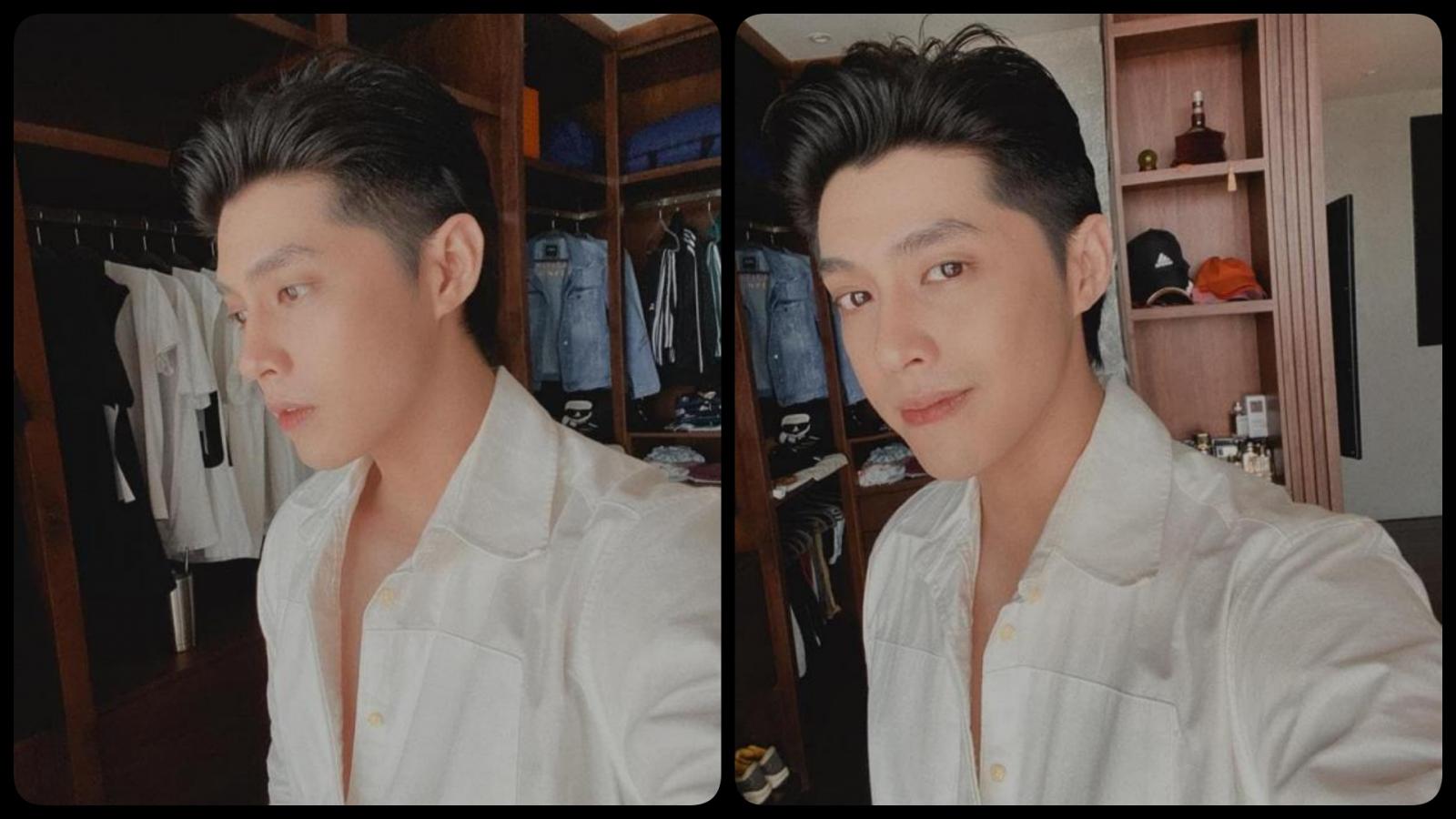 """Chuyện showbiz: Noo Phước Thịnh khoe vẻ đẹp trai như """"nam thần"""" trên trang cá nhân"""