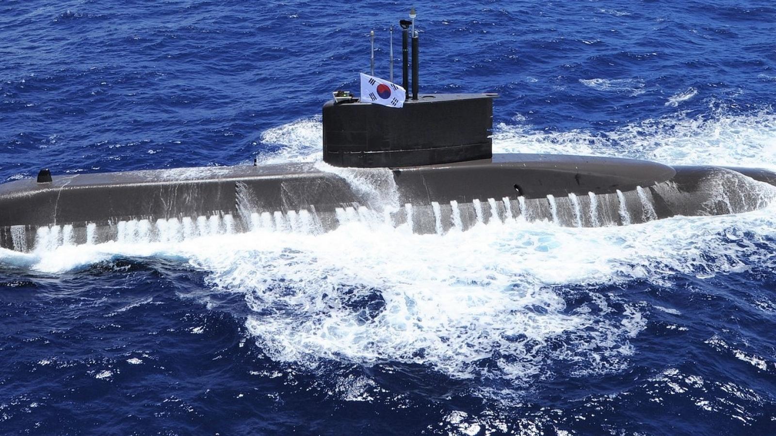 Đến lượt Hàn Quốc ước mơ tàu ngầm chạy bằng năng lượng nguyên tử