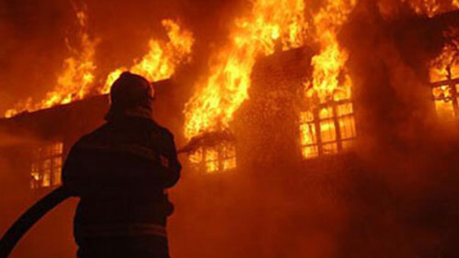 Cháy lớn tạitrung tâm võ thuật ởTrung Quốckhiến 18 người thiệt mạng
