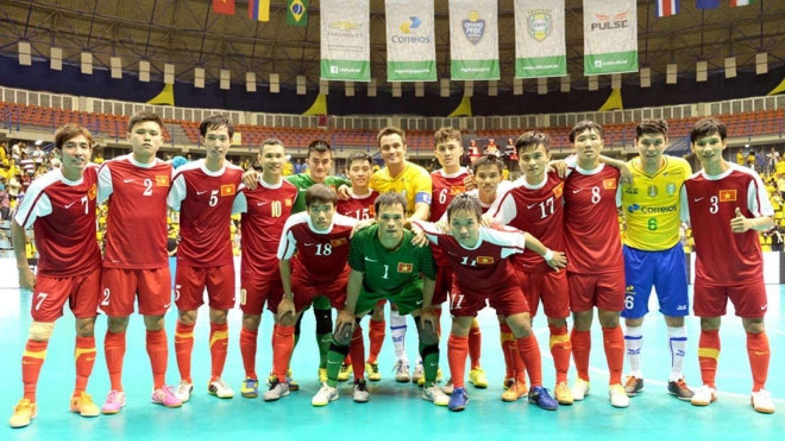 Vietnam vs Brazil in FIFA Futsal World Cup opener