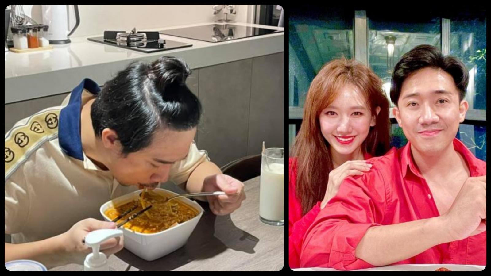 Chuyện showbiz: Hari Won khoe ảnh Trấn Thành để râu ria, tóc tai bờm xờm vào mùa dịch