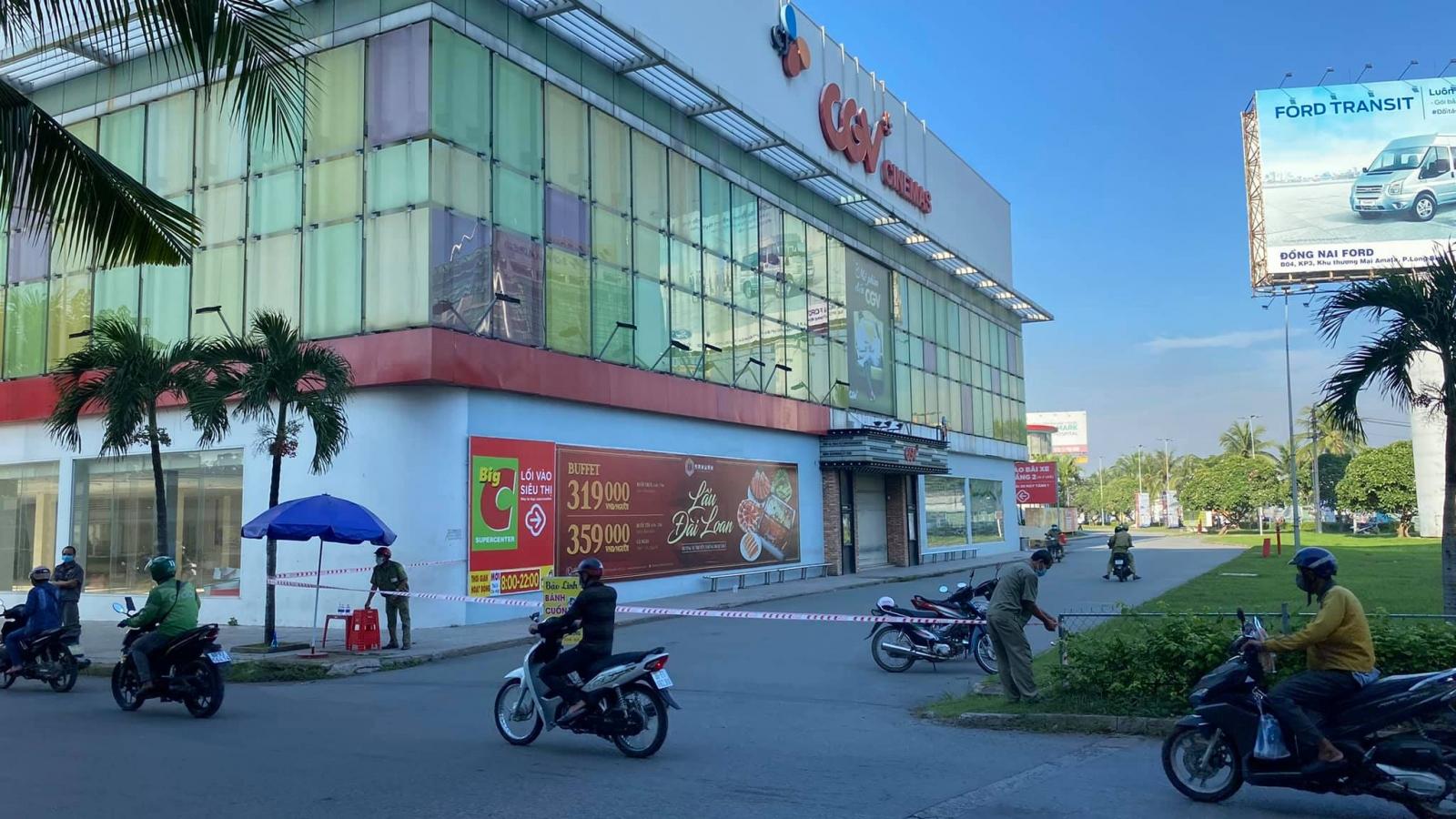 Hơn 700 trường hợp F2 tại siêu thị Big C Đồng Nai âm tính với SARS-CoV-2