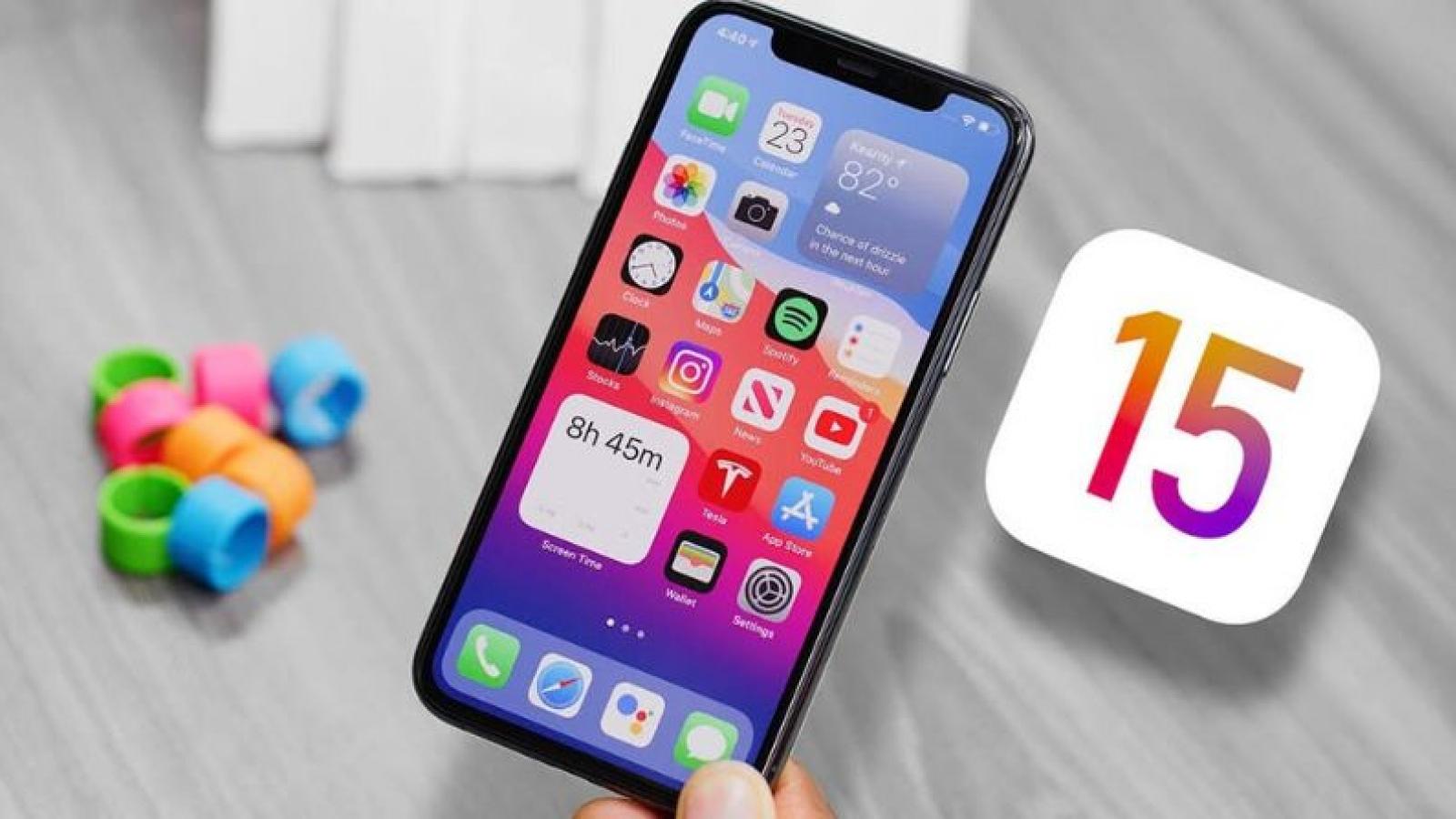 Những mẫu iPhone nào sắp được nâng cấp lên iOS 15?