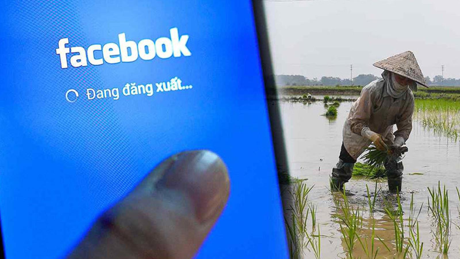 Facebook tìm cơ hội tăng trưởng ở nông thôn Việt Nam