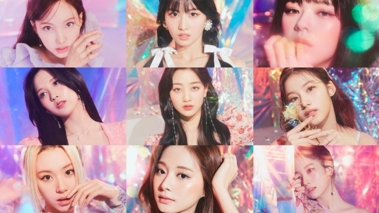 TWICE đẹp huyền ảo trong bộ ảnh chủ đề cho album mới