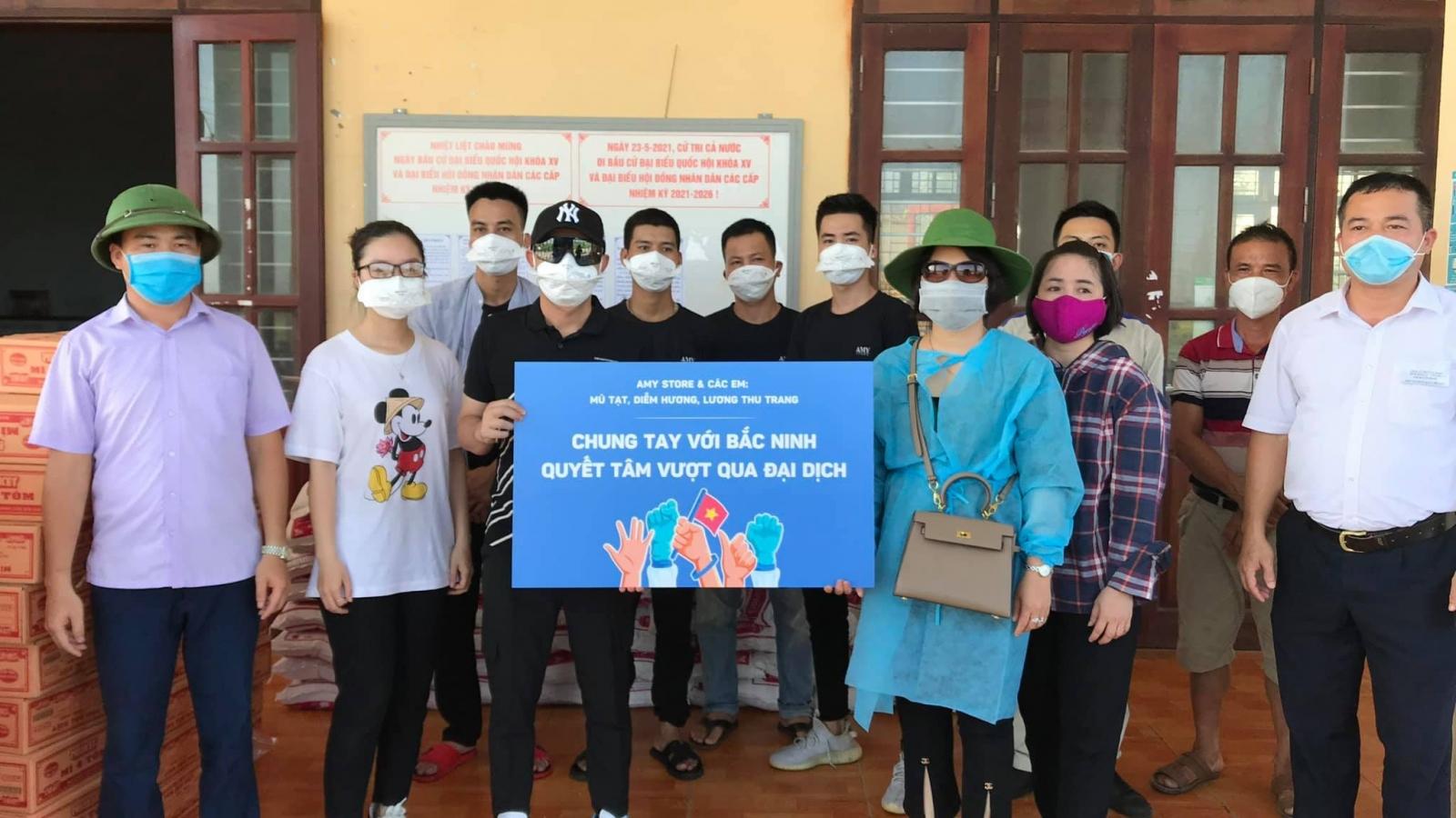 Việt Anh, Thu Trang... kêu gọi, ủng hộ Quỹ vaccine phòng Covid-19