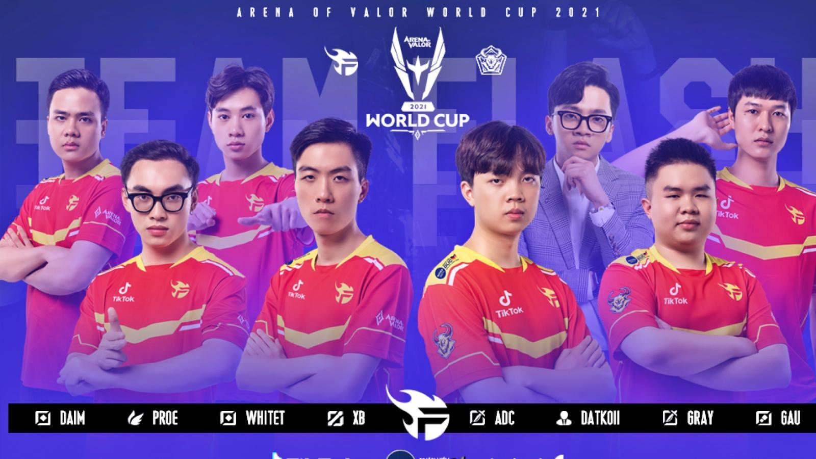 AWC 2021: Trả nợ Dewa, Team Flash của Việt Nam xếp thứ 2 bảng A tử thần