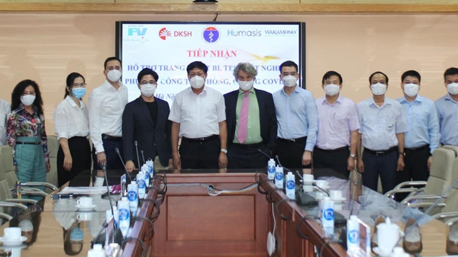 Doanh nghiệp cam kết đồng hành cùng Bộ Y tế trong phòng, chống dịch COVID-19