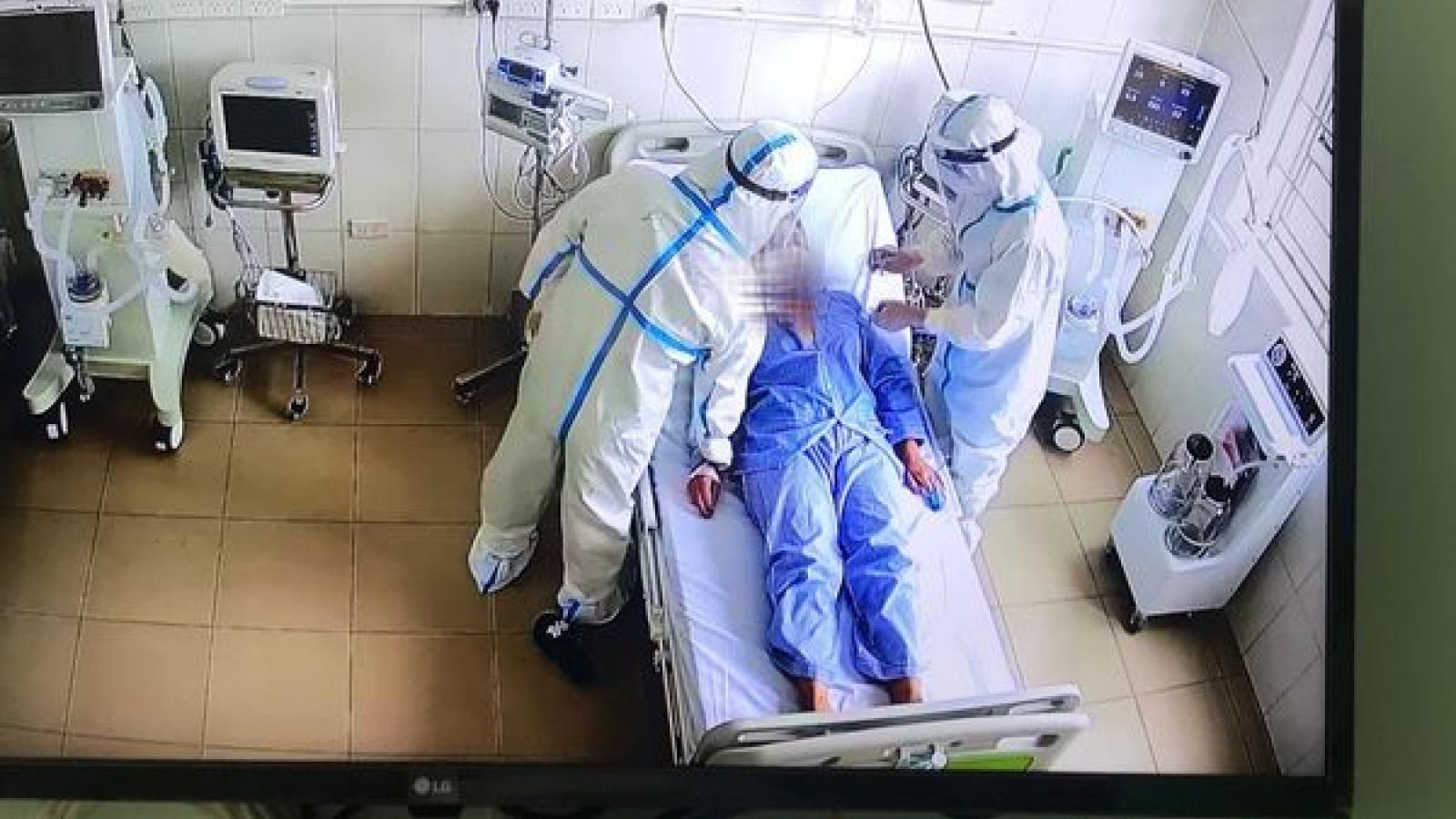 82 bệnh nhân COVID-19 tiên lượng rất nặng