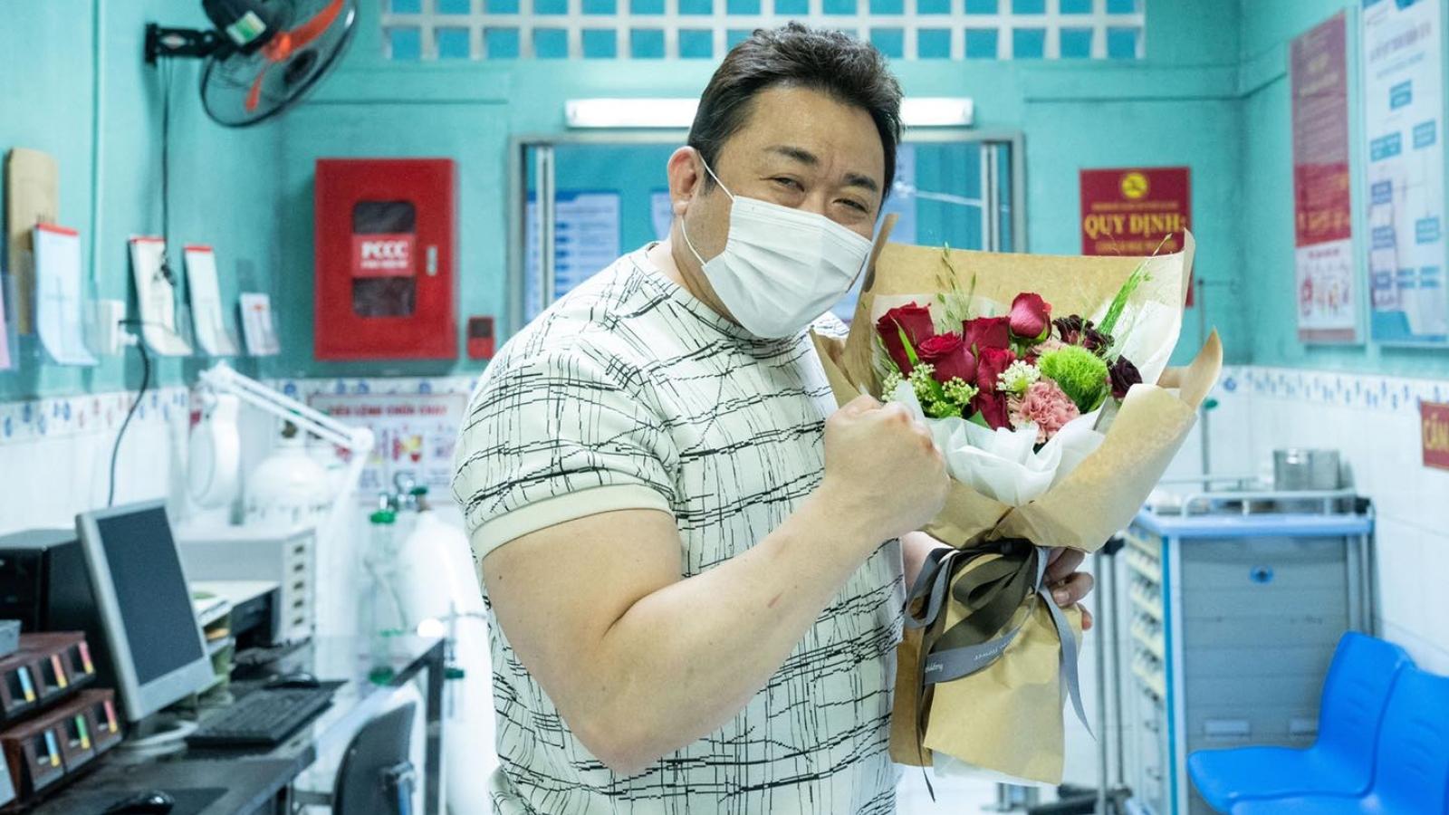 """""""Ông hoàng phòng vé"""" Ma Dong Seok đến Việt Nam quay phim?"""