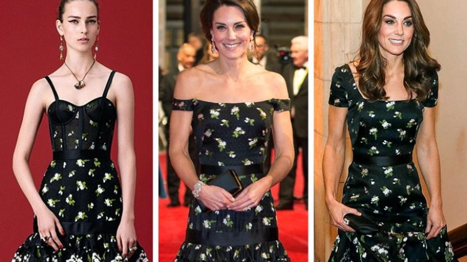 Những lần Công nương Kate sửa váy hàng hiệu theo chuẩn quy tắc Hoàng gia