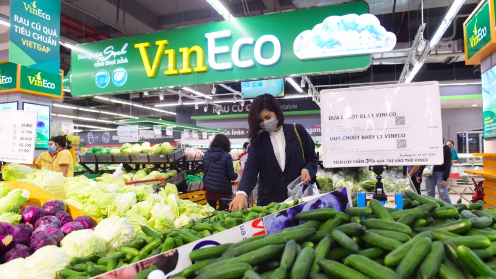 """Hóa mỹ phẩm và thực phẩm thiết yếu tại VinMart/VinMart+ khuyến mại """"khủng"""" lên đến 50%"""