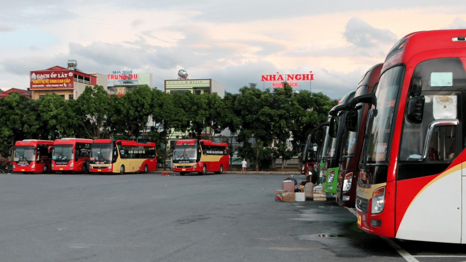 Lai Châu nối lại hoạt động vận tải hành khách đến Vĩnh Phúc, Điện Biên