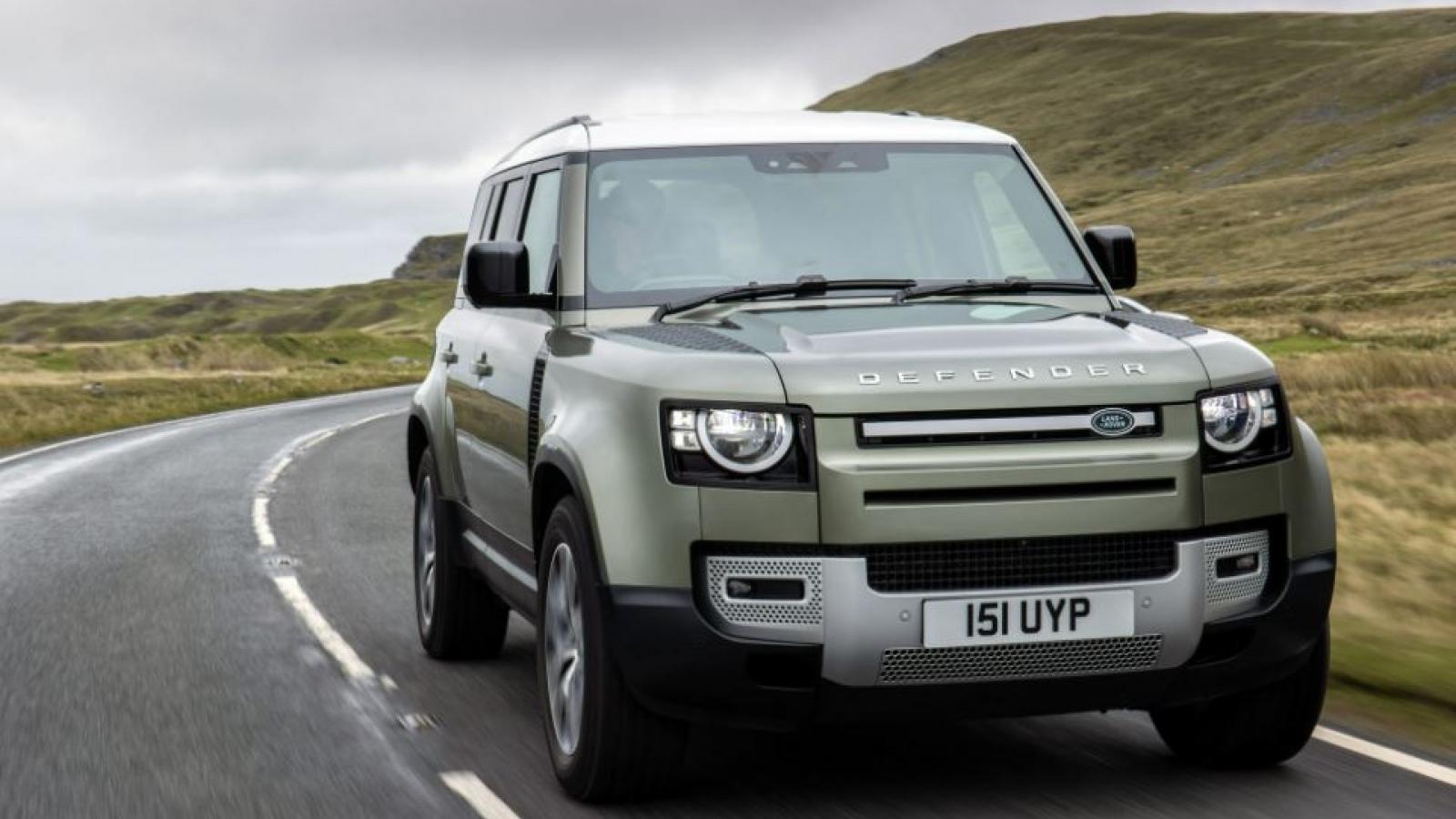 Land Rover Defender sẽ có phiên bản sử dụng pin hydro