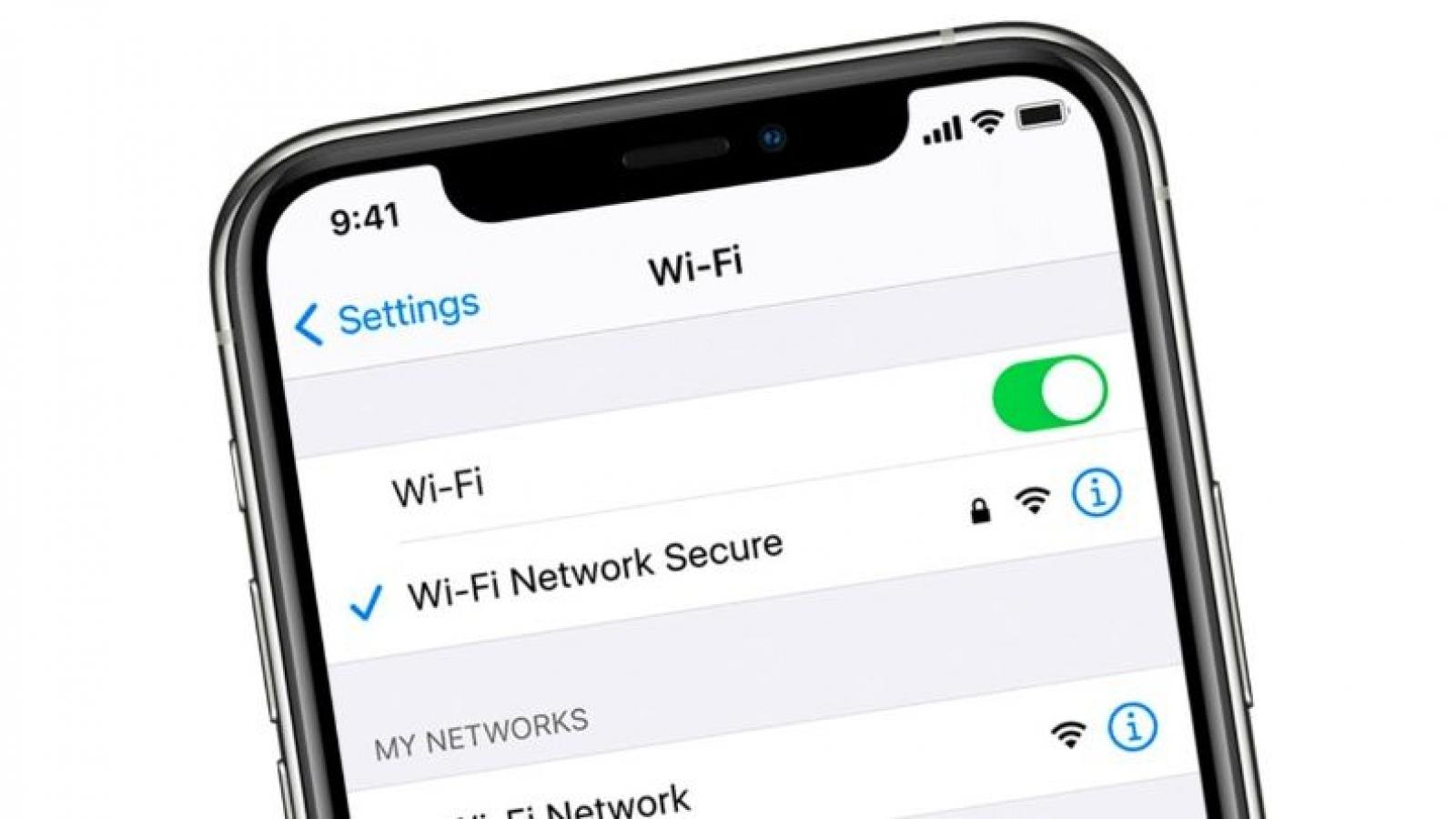 Cảnh giác trước lỗ hổng nghiêm trọng khi vào Wi-Fi trên iPhone