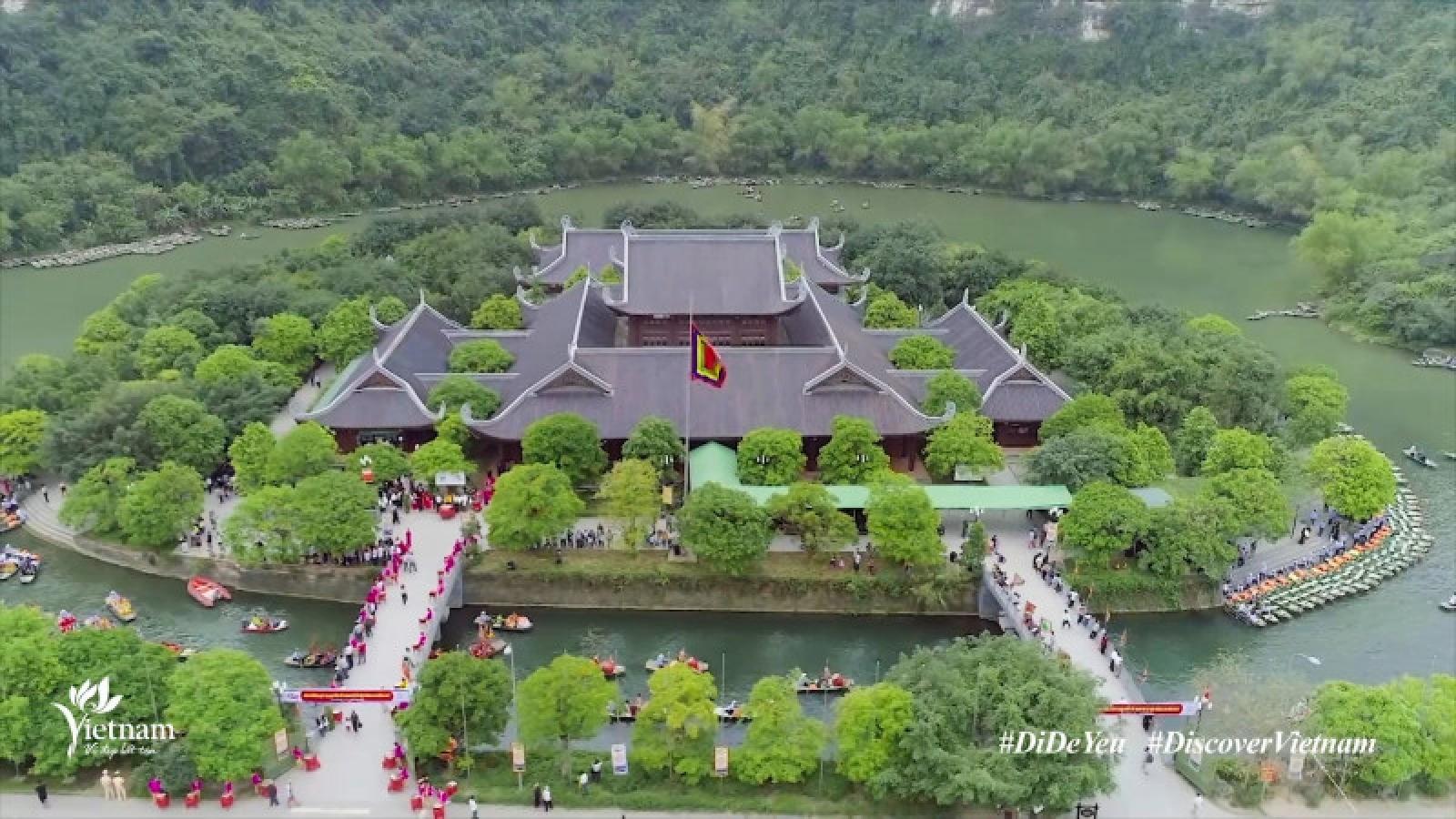 Tourism promotion clip showcases beautiful landscapes of Ninh Binh