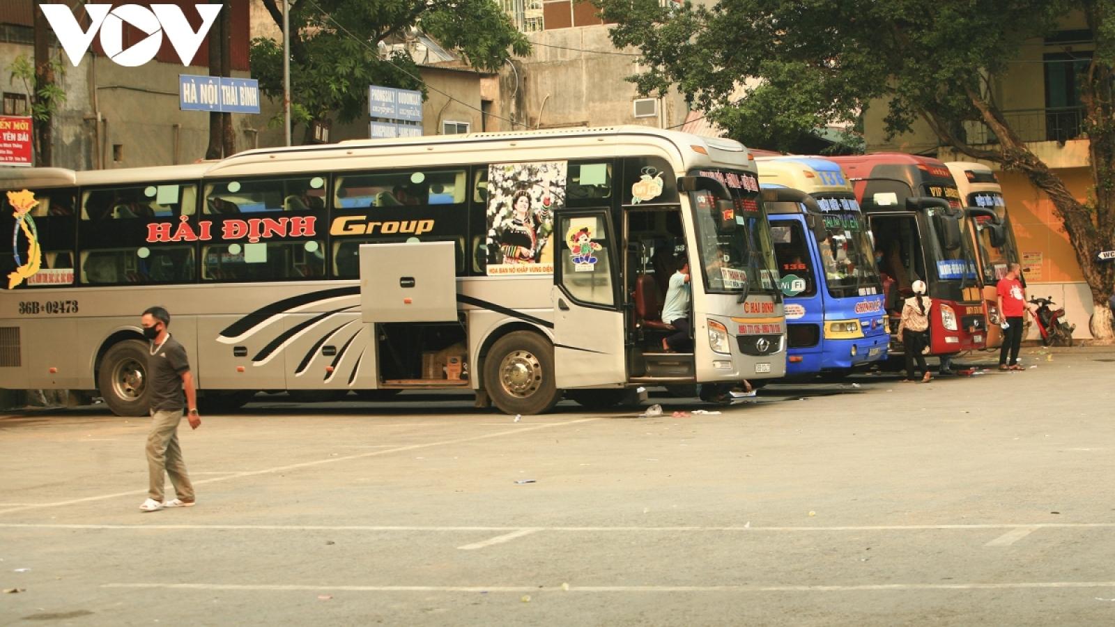 Từ 20/6,Điện Biên duy trì trở lại hoạt động vận tải hành khách liên tỉnh