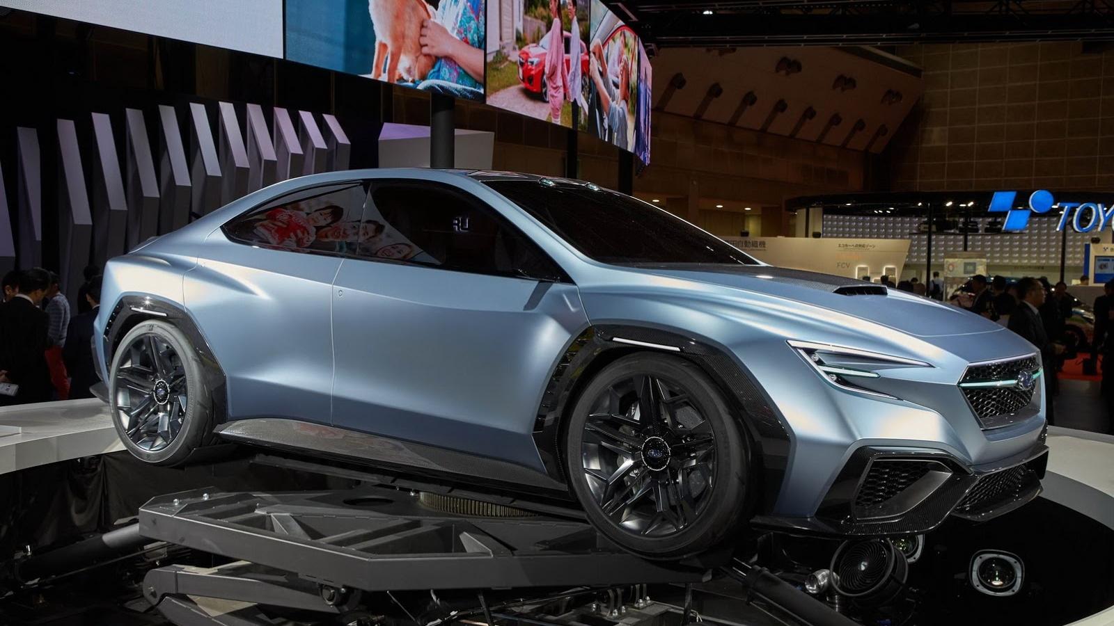 Subaru WRX 2022 được giới thiệu lần đầu tiên và sẽ ra mắt trong năm nay