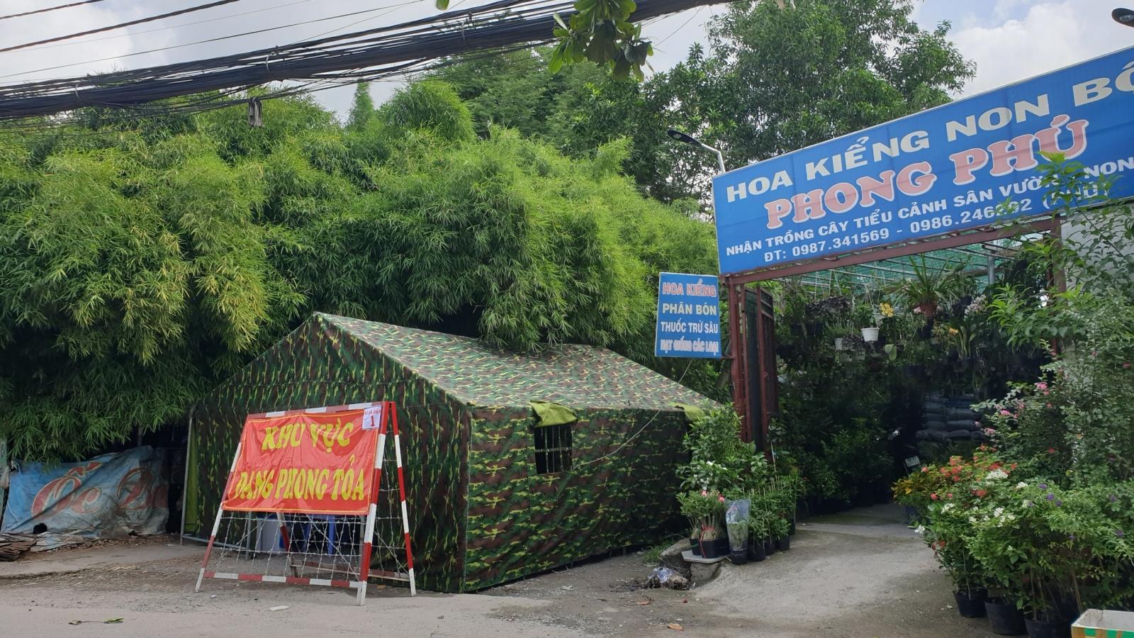 Huyện Hóc Môn (TP.HCM) phong toả thêm 3 khu vực